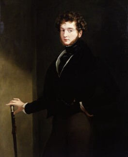 Alfred, Count D'Orsay, by Sir George Hayter, 1839 - NPG 5061 - © National Portrait Gallery, London