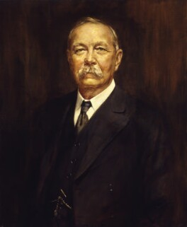 Arthur Conan Doyle, by Henry L. Gates, 1927 - NPG 4115 - © reserved; collection National Portrait Gallery, London