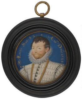 Sir Francis Drake, by Nicholas Hilliard - NPG 4851