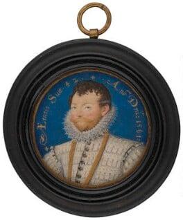 Sir Francis Drake, by Nicholas Hilliard, 1581 - NPG 4851 - © National Portrait Gallery, London