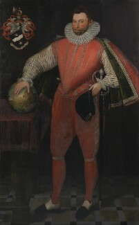 Sir Francis Drake, by Unknown artist, circa 1581 - NPG  - © National Portrait Gallery, London