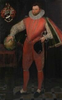Sir Francis Drake, by Unknown artist, circa 1581 - NPG 4032 - © National Portrait Gallery, London
