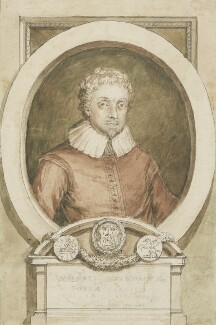 Michael Drayton, by Unknown artist - NPG 2528