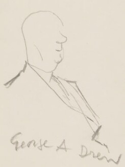 George Alexander Drew, by Sir David Low - NPG 4529(116)