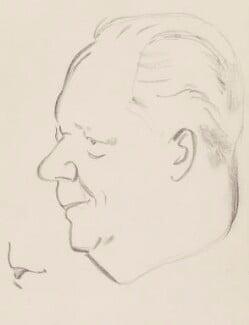 George Alexander Drew, by Sir David Low - NPG 4529(118)
