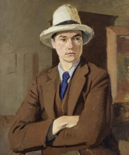 John Drinkwater, by Sir William Rothenstein, circa 1918 - NPG 6689 - © National Portrait Gallery, London