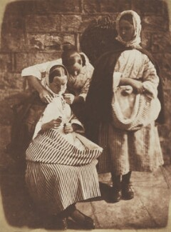 The Letter, by David Octavius Hill, and  Robert Adamson - NPG P6(202)