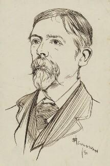 George Du Maurier, by Edmund Joseph Sullivan - NPG 2899