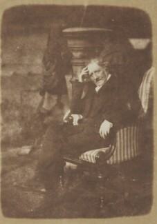 Henry Duncan, by David Octavius Hill, and  Robert Adamson - NPG P6(88)