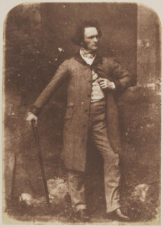 Thomas Duncan, by David Octavius Hill, and  Robert Adamson - NPG P6(20)