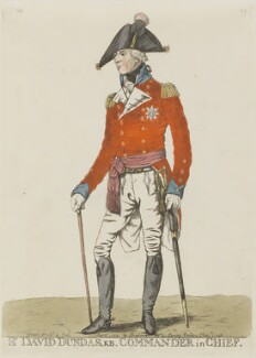 Sir David Dundas, by Robert Dighton - NPG 982d