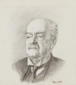 Andrew Graham Murray, 1st Viscount Dunedin, by Robin Craig Guthrie - NPG 3935