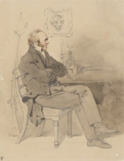 William Dunlop, by Daniel Maclise - NPG 3029