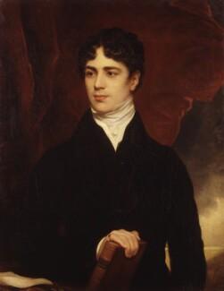 John George Lambton, 1st Earl of Durham, replica by Thomas Phillips, 1820, based on a work of 1819 - NPG 2547 - © National Portrait Gallery, London