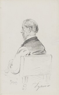 Francis William Rice, 5th Baron Dynevor, by Frederick Sargent - NPG 1834(k)