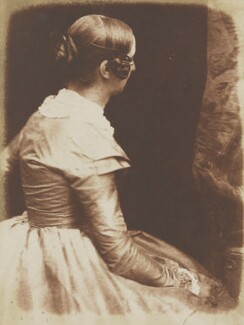Elizabeth (née Rigby), Lady Eastlake, by David Octavius Hill, and  Robert Adamson - NPG P6(125)