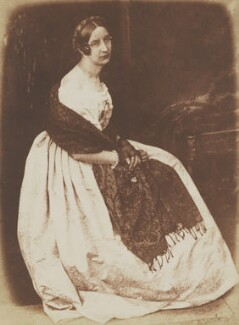 Elizabeth (née Rigby), Lady Eastlake, by David Octavius Hill, and  Robert Adamson - NPG P6(130)