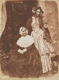 Anne Rigby (née Palgrave); Elizabeth, Lady Eastlake (née Rigby), by David Octavius Hill, and  Robert Adamson, 1843-1848 - NPG P6(134) - © National Portrait Gallery, London
