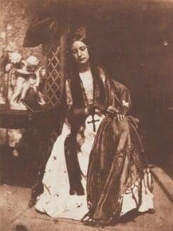 Elizabeth (née Rigby), Lady Eastlake, by David Octavius Hill, and  Robert Adamson - NPG P6(136)