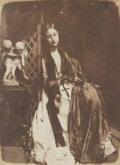 Elizabeth (née Rigby), Lady Eastlake, by David Octavius Hill, and  Robert Adamson - NPG P6(163)