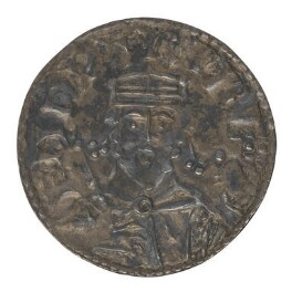 King Edward, by Manwine, from a die attributed to  Theodoric - NPG 4048