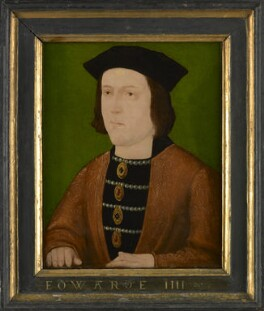 King Edward IV, by Unknown English artist, circa 1540 - NPG 3542 - © National Portrait Gallery, London
