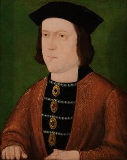 King Edward IV, by Unknown English artist, circa 1540 - NPG 3542 - © National Portrait Gallery, London
