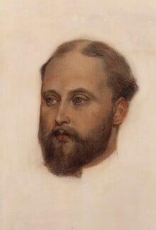 King Edward VII, by George Frederic Watts, circa 1874 - NPG 3983 - © National Portrait Gallery, London