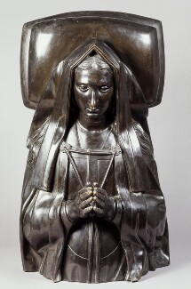 Elizabeth of York, by Elkington & Co, cast by  Domenico Brucciani, after  Pietro Torrigiano, 1870, based on a work of circa 1512-1518 - NPG 291 - © National Portrait Gallery, London