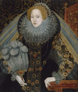 Queen Elizabeth I, by Unknown artist, 1585-1590 - NPG 2471 - © National Portrait Gallery, London