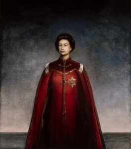 Queen Elizabeth II, by Pietro Annigoni, 1969 - NPG 4706 - © National Portrait Gallery, London