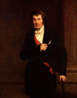 Edward Law, 1st Earl of Ellenborough, by Frederick Richard Say, circa 1845 - NPG 1805 - © National Portrait Gallery, London