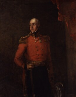 William George Keith Elphinstone, by William Salter - NPG 3714