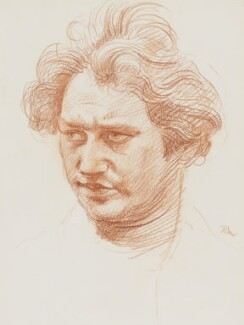 Jacob Epstein, by Augustus John - NPG 4119
