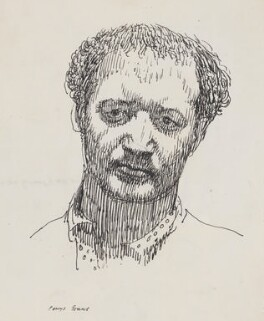 Jacob Epstein, by Powys Evans, published 1925 - NPG  - © estate of Powys Evans