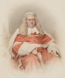 Sir William Erle, by F.A. Tilt - NPG 464a
