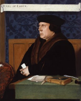 Thomas Cromwell, Earl of Essex, after Hans Holbein the Younger, early 17th century, based on a work of 1532-1533 - NPG  - © National Portrait Gallery, London