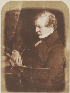 William Etty, by David Octavius Hill, and  Robert Adamson - NPG P6(7)
