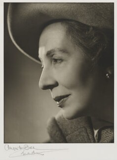Dame Edith Evans (Dame Edith Mary Booth), by Angus McBean - NPG P64