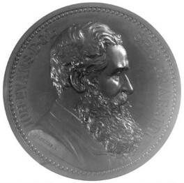 Sir John Evans, by John Harvey Pinches - NPG 5006