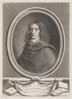 John Evelyn, by Robert Nanteuil - NPG 3258