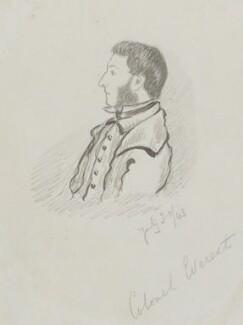 Sir George Everest, attributed to William Tayler - NPG 2553