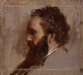 Thomas Faed, by Sir William Fettes Douglas, circa 1866 -NPG 4840 - © National Portrait Gallery, London