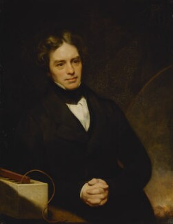 Michael Faraday, by Thomas Phillips, 1841-1842 - NPG 269 - © National Portrait Gallery, London