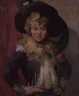 Ellen ('Nellie') Farren, by Walford Graham Robertson - NPG 3133