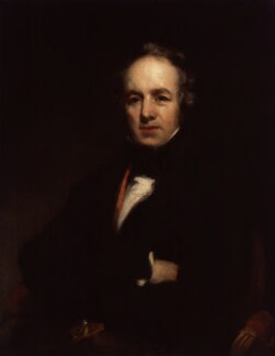 William Farren, by Richard Rothwell - NPG 1440
