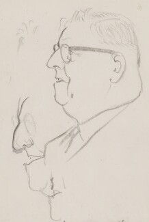 Sir Luke Fawcett, by Sir David Low - NPG 4529(124)