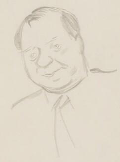 Gerard Fay, by Sir David Low - NPG 4529(125)