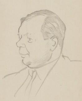 Gerard Fay, by Sir David Low - NPG 4529(126)