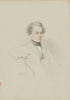 Sir Charles Fellows, by William Brockedon - NPG 2515(97)